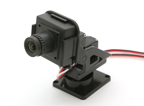 Camera Mini Pan Tilt Kit XY Axis (Without servos)