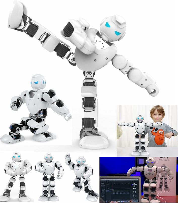 UBTECH Alpha1 humanoid ROBOT chassis with 16 servo