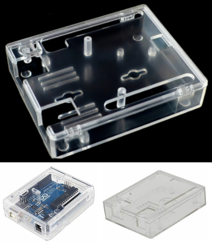 Arduino UNO R3 Case shell enclosure injection mold