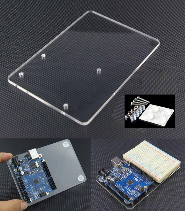 Arduino UNO Acrylic Experimental Board Platform