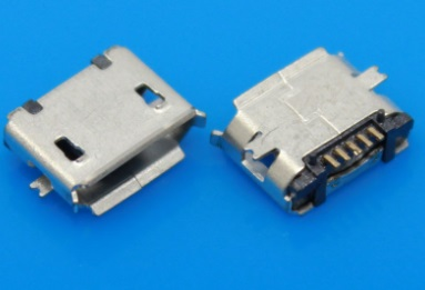 Mobile micro USB SMD data charging Connector jack