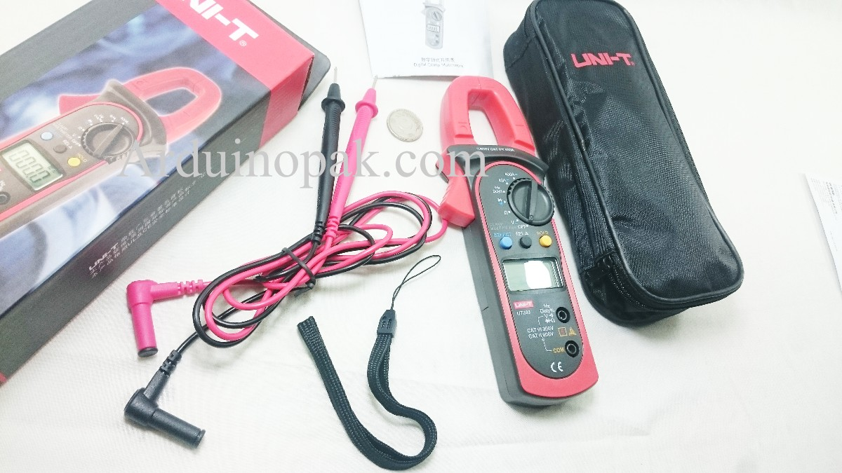 UNI-T UT203 UT 203 Digital Clamp Multimeter Ohm DM