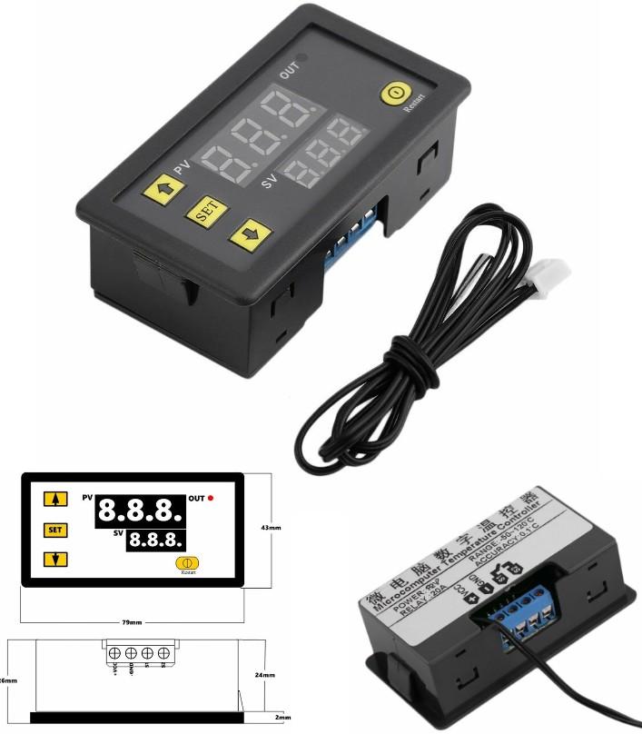 RY-W3230 thermostat temperature controller 220V di