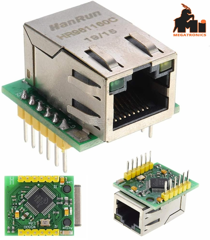 W5500 Ethernet TCP/IP Protocol Stack SPI IOT Compatible WIZ820io Shield