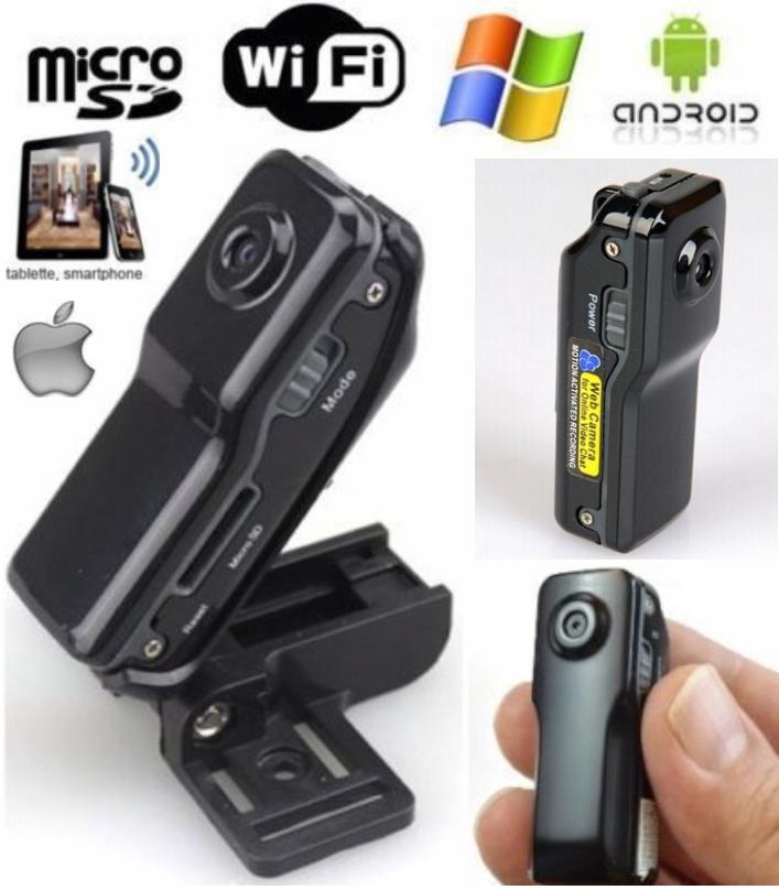 MD81S WiFi Camera Mini DV Wireless IP HD Micro
