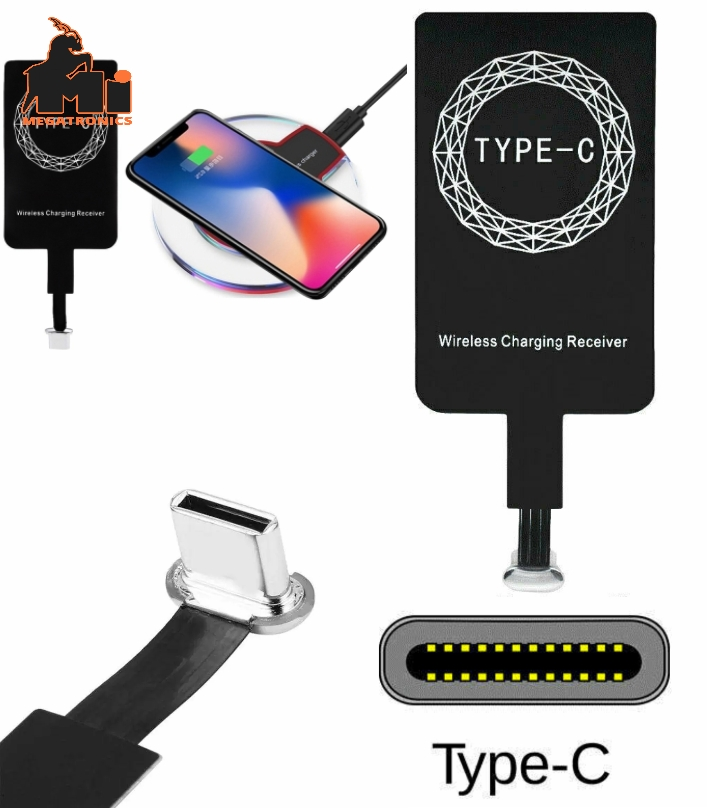 Qi Wireless Charging USB-C Type-C Receiver Charger