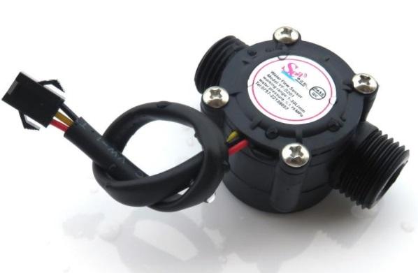 DN15 YF-S201 3 wires water flow meter sensor