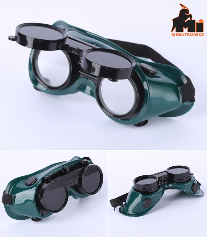 Dual lens Welding safety Glasses Protective Glasse