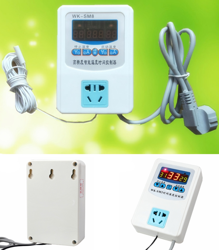 WK-SM8 socket Digital Temperature controller Switc