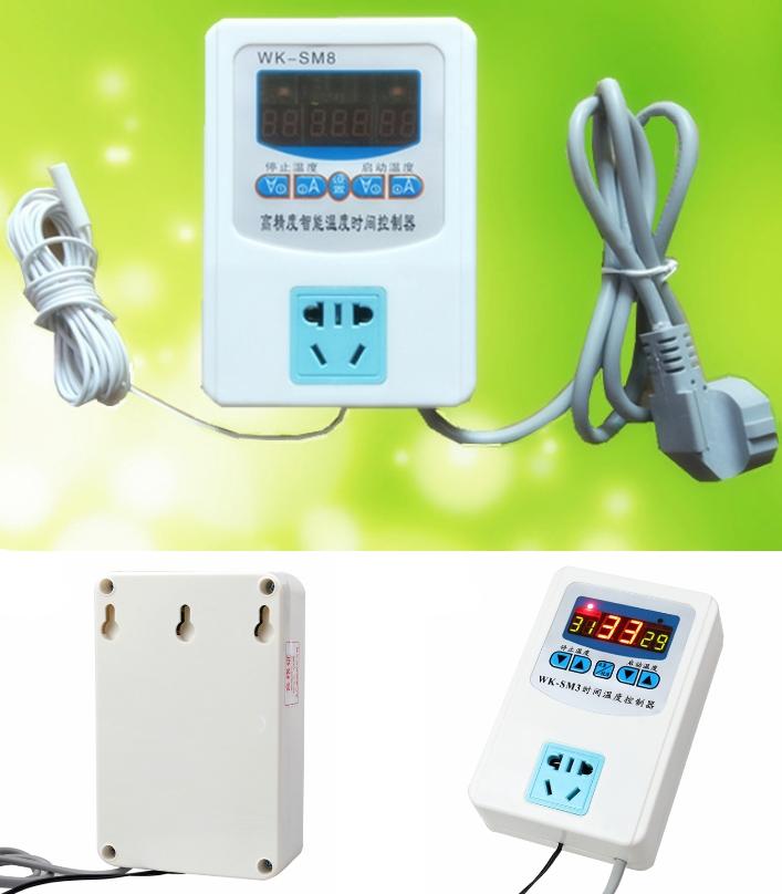 WK-SM8 socket Digital Temperature controller Switc