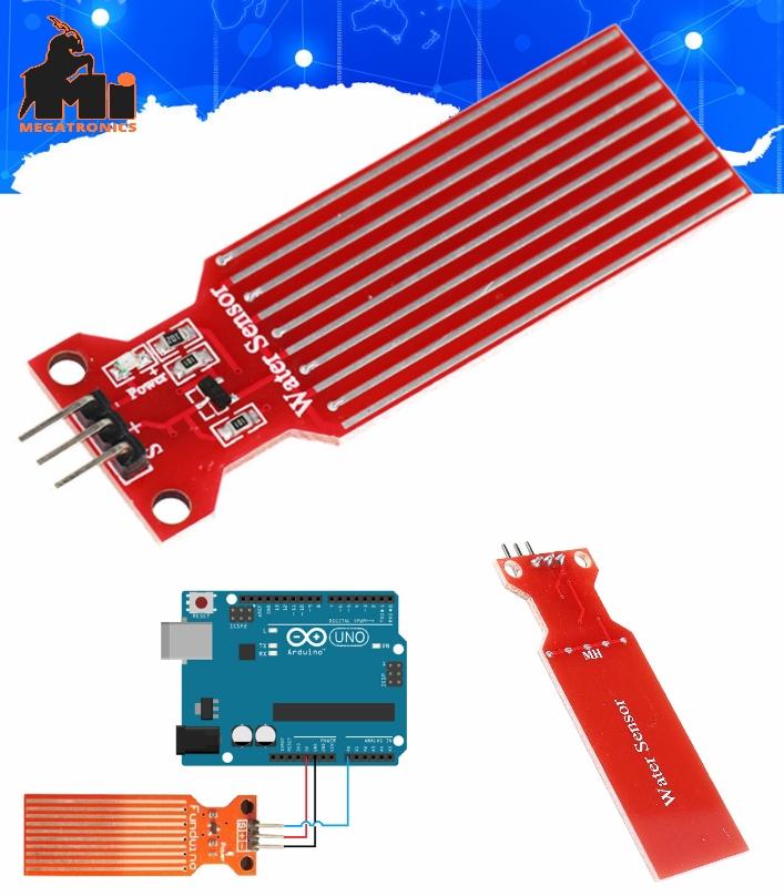 Water Level Sensor for Arduino Moisture Droplets Water