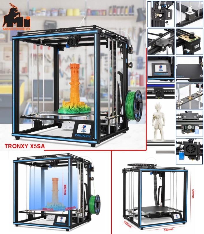 Tronxy X5SA 3D printer metal Square Core XY Struct