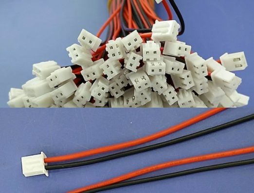 24AWG JST XH2.54 2 Pin Connector Plug Wire Cable 2