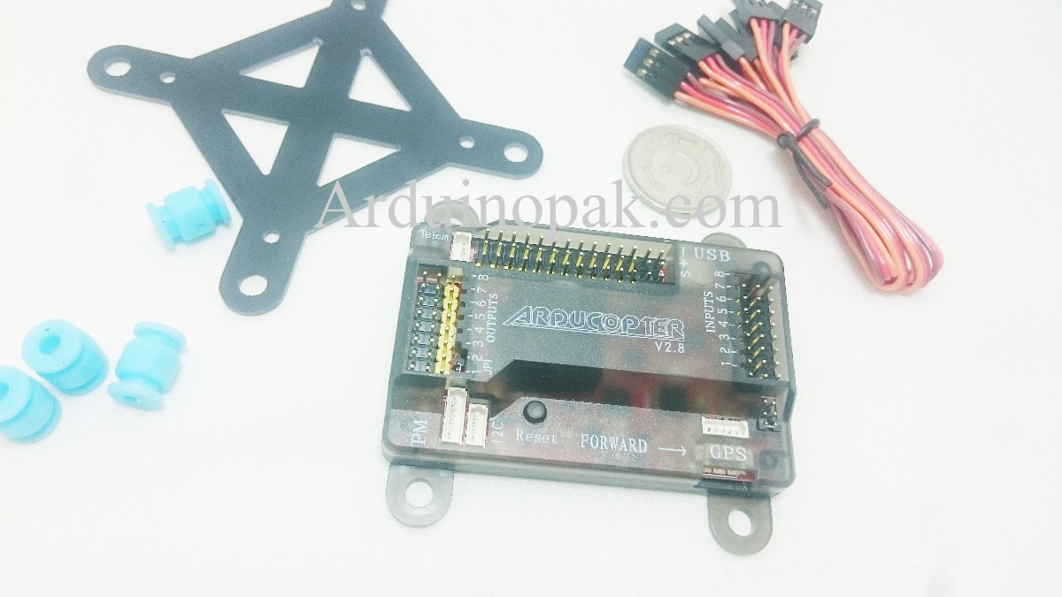 APM 2.8 Flight Controller Board with Shock Absorbe