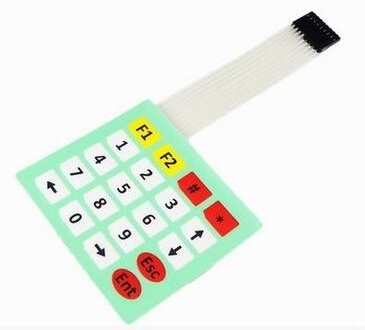 4x5 20 keys switch Membrane Matrix KeyPad button