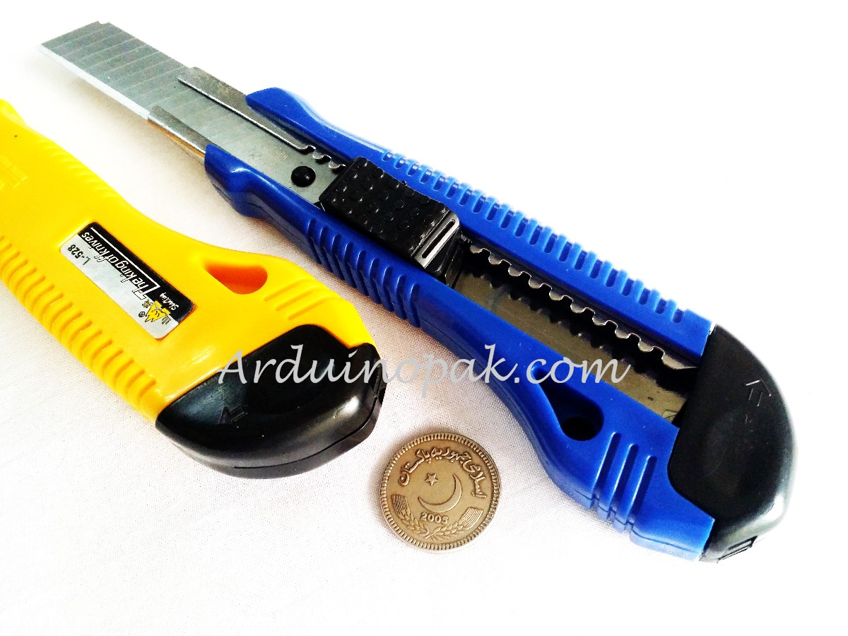 Stainless Steel Practical Utility Cutter Knife L-5