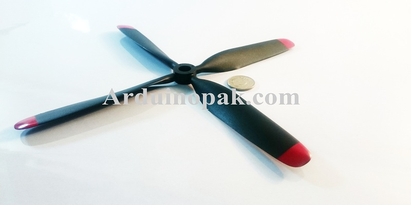 10x8 FMS CNM four blade 980mm propeller
