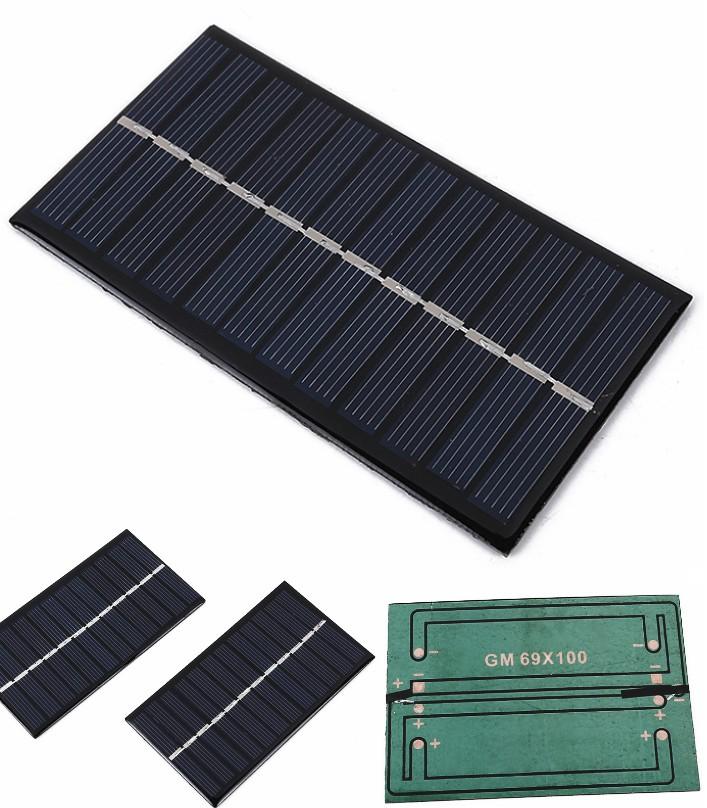 Solar Panel 6V 1.1W Polycrystalline silicon