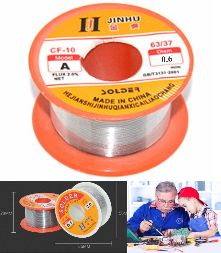 Rosin core solder wire 50g 0.6mm soldering wire