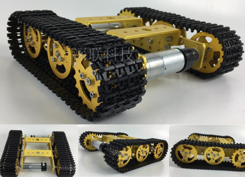 T101 Tank Tracked Chassis Smart Robot Contest Grad