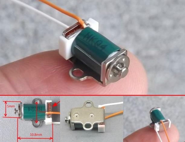 Micro 5V Miniature Solenoid Push Pull